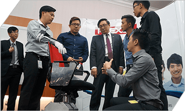 "Plexus engineers in Malaysia collaborated with university students to create the ""PlexWheel"""